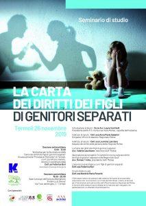 La carta dei diritti dei figli di genitori separati