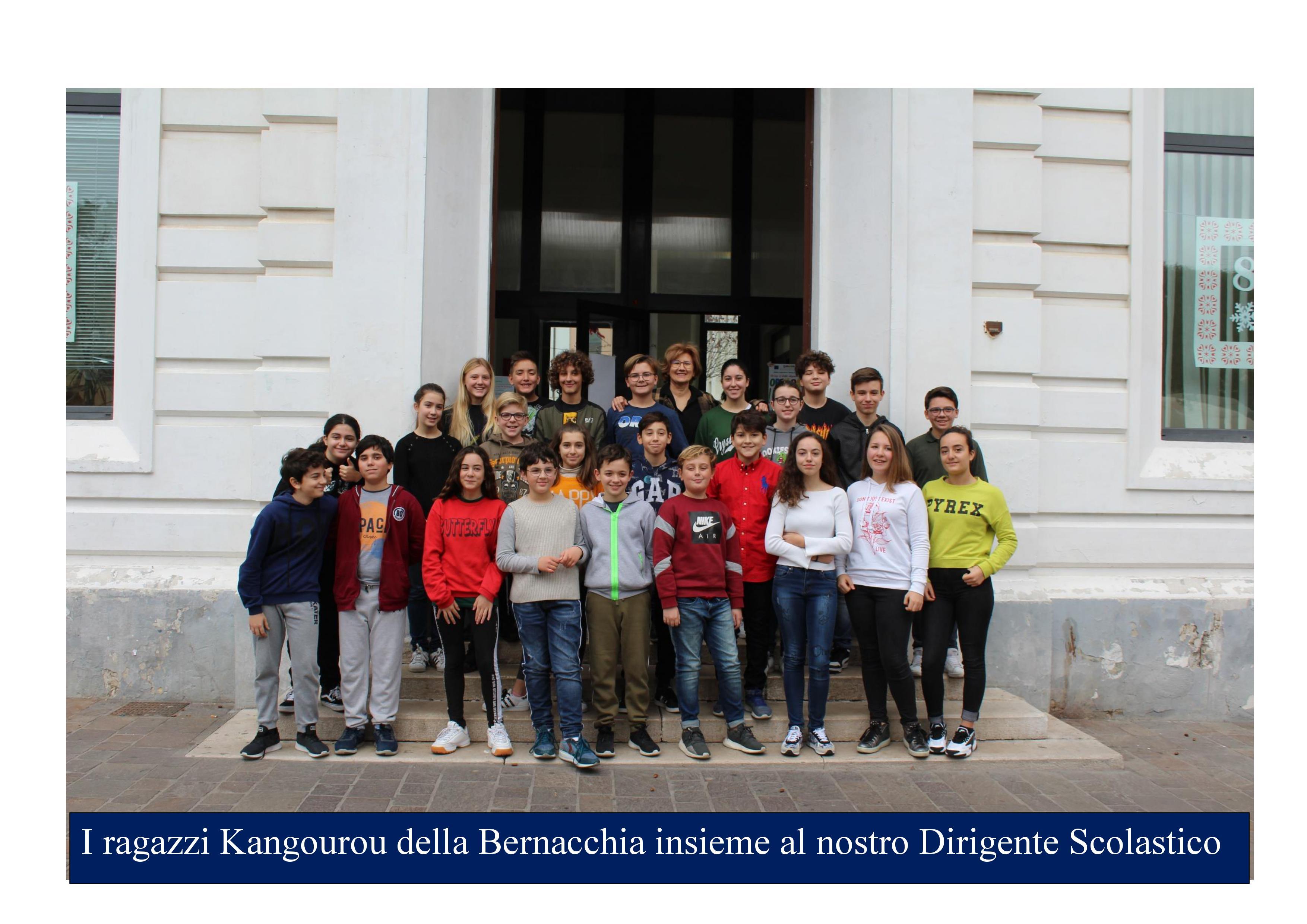 Il nostro Istituto al Kangourou Italia 2019-2020