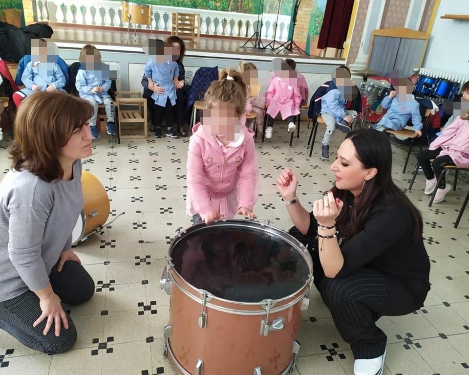 QUANDO IL CORPO DIVENTA STRUMENTO Laboratorio didattico-musicale di body percussion con i più piccoli