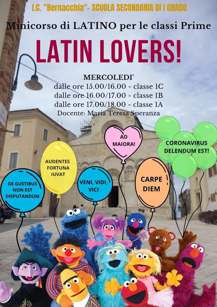 LATIN LOVERS! Corso di latino per classi prime