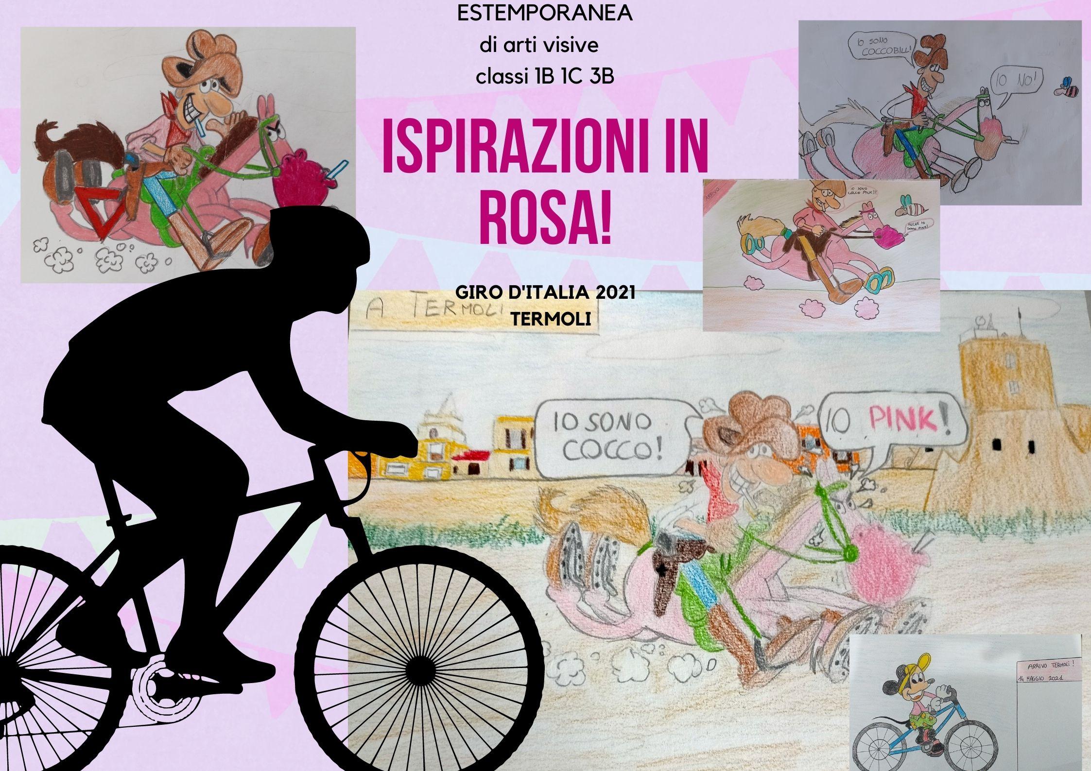 TERMOLI, LA BICI E IL ROSA: L'I.C. BERNACCHIA OMAGGIA IL GIRO D'ITALIA