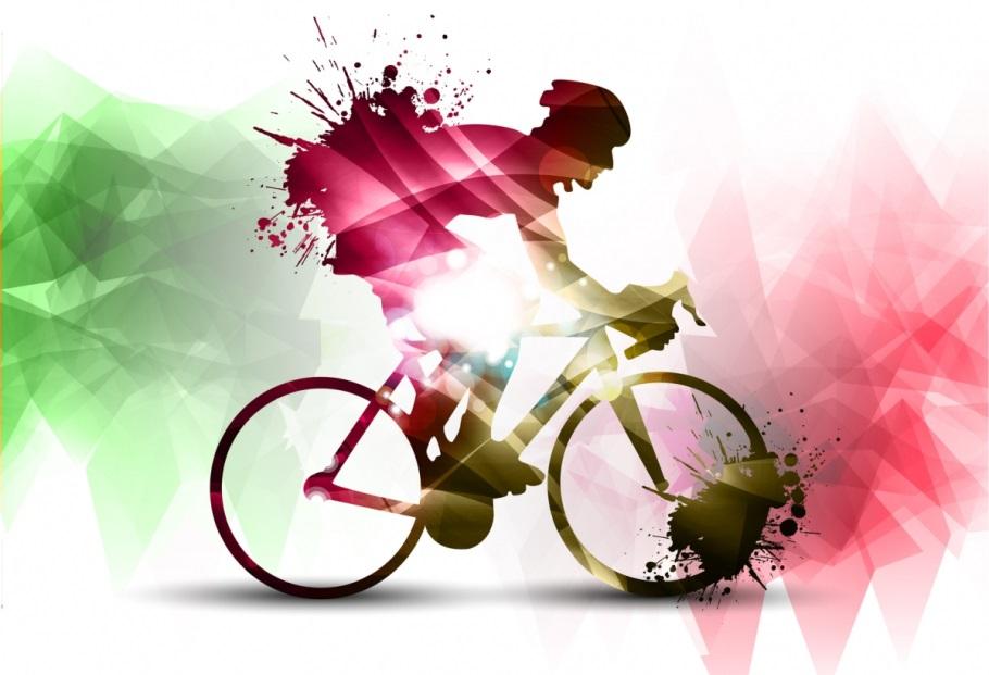 Bicicletta tricolore