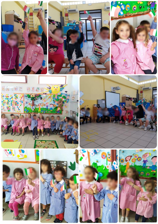 A scuola di Costituzione con  i bambini dell'Infanzia di Pantano Basso